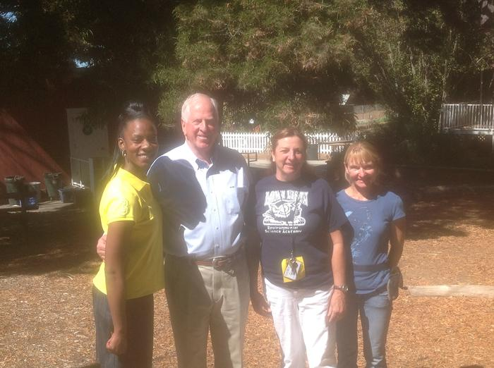 Congressman Thompson visits Loma Vista Farm