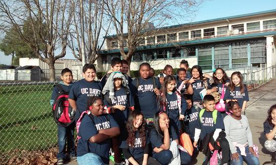 5th Graders Experience Collgee at UC Davis